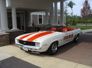 1969 Indy Pace Car