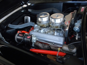 Restored Engine Compartment