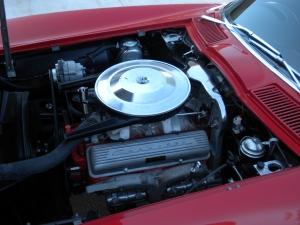 327-340 HP V8 Engine